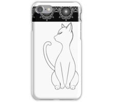 Noir Et Blanc iPhone Case/Skin