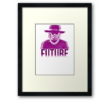 Purple Future Framed Print