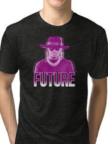 Purple Future Tri-blend T-Shirt