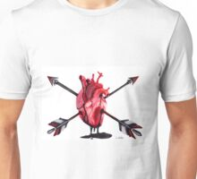 Arrow Heart Unisex T-Shirt