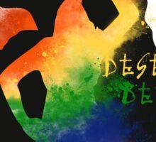 Lexa - LGBT Fans Deserve Better Sticker