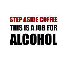 Alcohol Job 2 Photographic Print