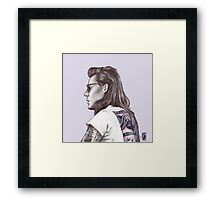 Harry Rollingstones Framed Print