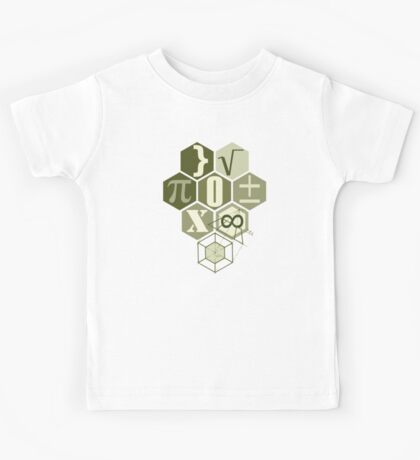 math t-shirt army  Kids Tee