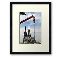 Colonia - Köln - Cologne - Dom Framed Print