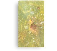 Lime Stone Canvas Print