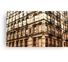 Grundge Architecture Canvas Print