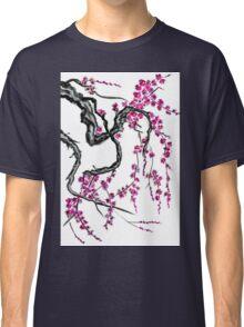 Pink flowers of sakura Classic T-Shirt