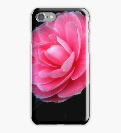 Softness of a pink camelia iPhone Case/Skin