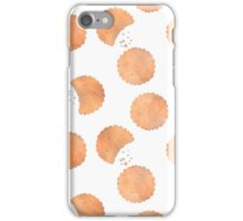 Crackers. Seamless pattern iPhone Case/Skin