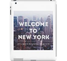 Welcome to New York Taylor Swift iPad Case/Skin