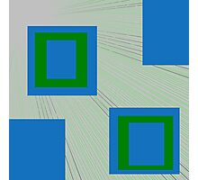 Square Up Photographic Print