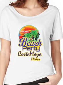 Costa Maya, Mexican Riviera Women's Relaxed Fit T-Shirt