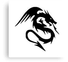 Dragon Design Canvas Print