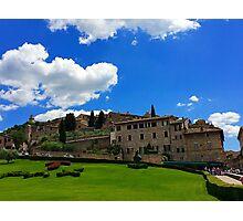 Basilica of Saint Francis Assisi Italy Photographic Print
