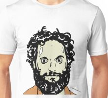 Jason Mantzoukas Colour Portrait JTownsend Unisex T-Shirt