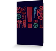 Metal Gear Solid Inventory, Ver. A-1 Greeting Card