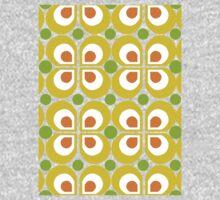 Retro 60s Pattern Kids Tee