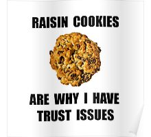 Raisin Cookie Poster