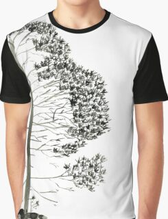 Single Pine, a symbol of longevity Graphic T-Shirt