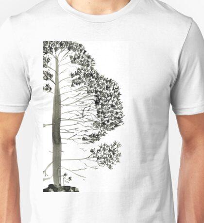 Single Pine, a symbol of longevity Unisex T-Shirt