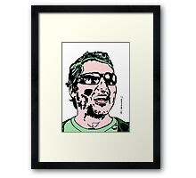 Doug Benson Colour Portrait JTownsend Framed Print