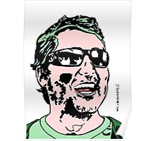 Doug Benson Colour Portrait JTownsend Poster
