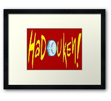 HADOUKEN! Framed Print