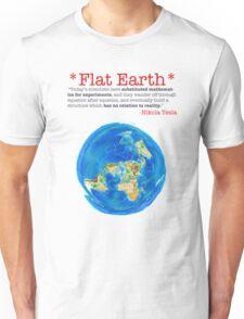 Flat Earth Tee Shirts & More! Unisex T-Shirt