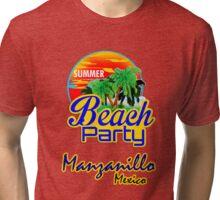 Manzanillo, Mexican Riviera Tri-blend T-Shirt