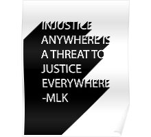 MLK Quote Text Poster