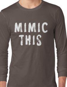 MIMIC THIS - Kimmel (Screen Accurate) Edge of Tomorrow Long Sleeve T-Shirt