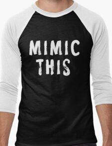 MIMIC THIS - Kimmel (Screen Accurate) Edge of Tomorrow Men's Baseball ¾ T-Shirt