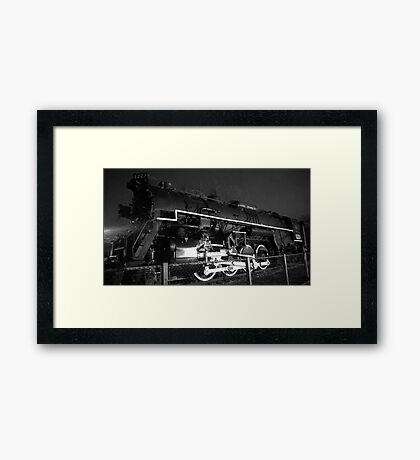 Night Time Train Ride Framed Print