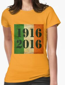 100 years and Rising   Womens Fitted T-Shirt