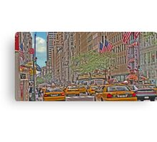 TGI Fridays 5th Ave Canvas Print