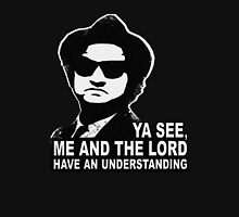 Jake Blues (John Belushi) - Me and the Lord have an understanding Classic T-Shirt