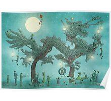 The Night Gardener - Dragon Tree night option Poster