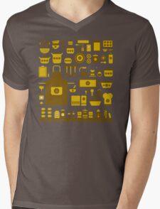 retro kitchenware Mens V-Neck T-Shirt