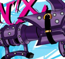 Jinx Fishbones Cannon Sticker