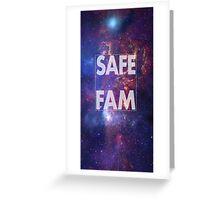 Safe Fam Greeting Card