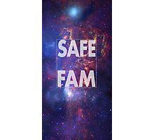 Safe Fam Photographic Print
