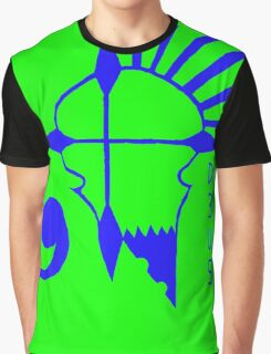 Deus Rebels Green Graphic T-Shirt