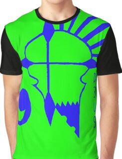 Deus Rebels Green Graphic T-Shirt