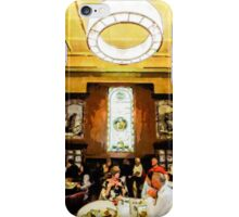 Luncheon Trays iPhone Case/Skin