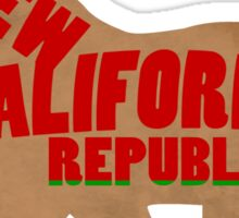 Yell For Your Republic Sticker