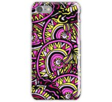 Abstract hand drawn colorful seamless pattern iPhone Case/Skin