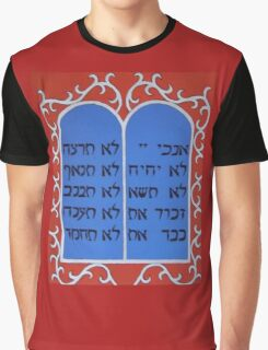 The Ten Commandments Graphic T-Shirt