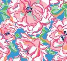 Indiana State Outline - Lilly Pulitzer Sticker