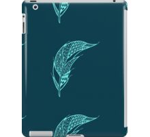 Seamless pattern with hand drawn feather  iPad Case/Skin
